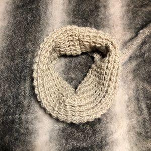 Crochet infinity neck scarf
